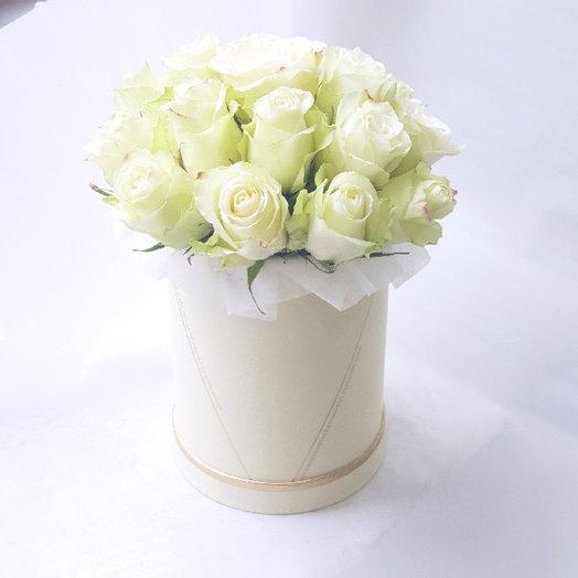 Белоснежное облачко: букеты цветов на заказ Flowwow