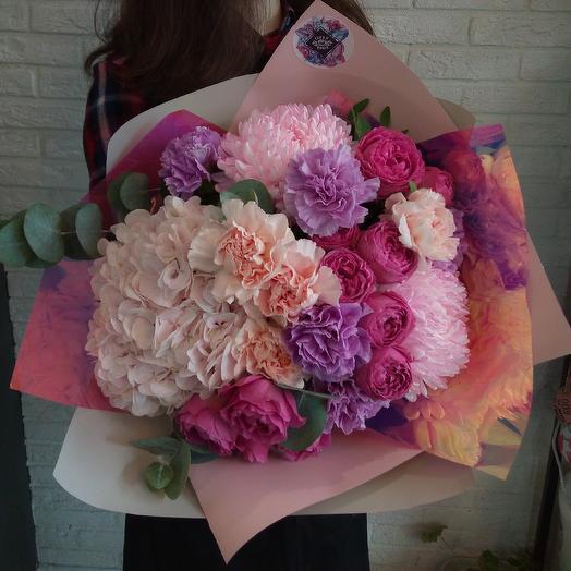 Космическая нежность: букеты цветов на заказ Flowwow