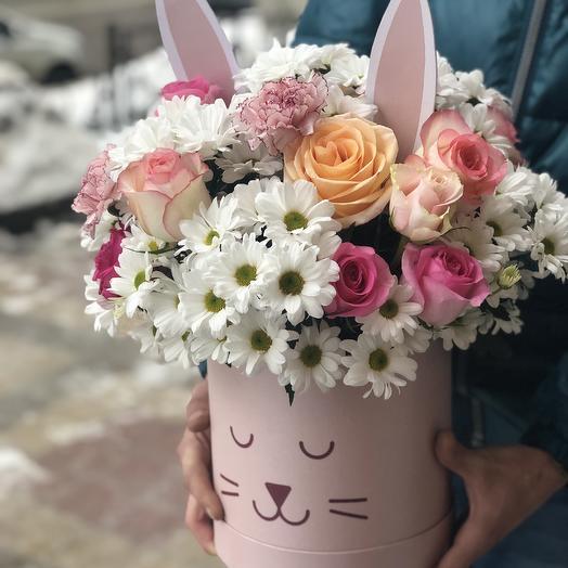 Ушастое чудо: букеты цветов на заказ Flowwow