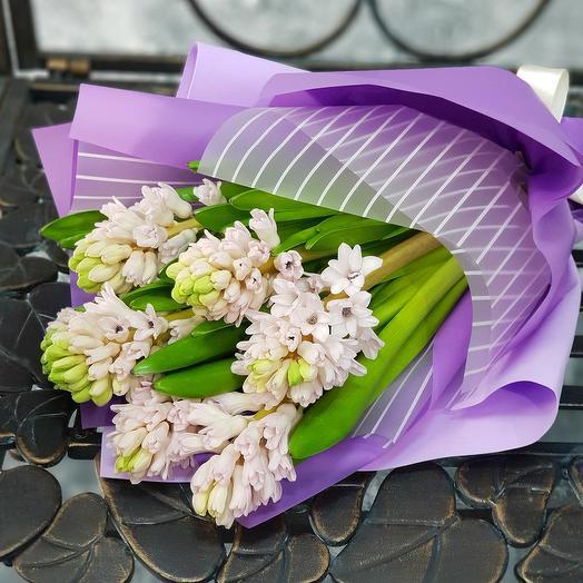 """Букет из гиацинтов  """"Приятного вечера"""": букеты цветов на заказ Flowwow"""