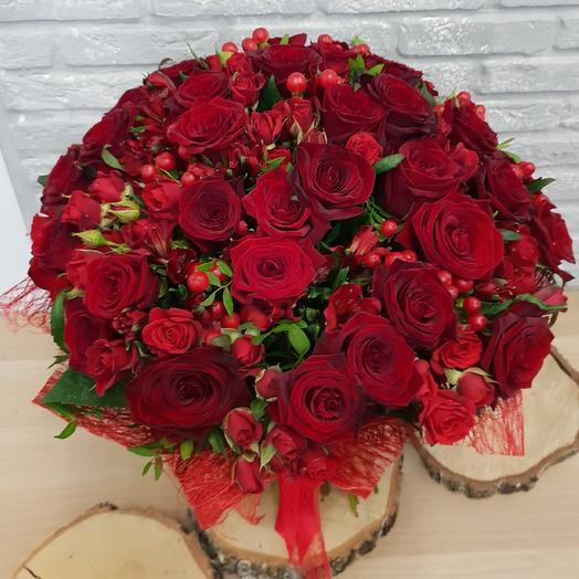 Выйдешь за меня: букеты цветов на заказ Flowwow