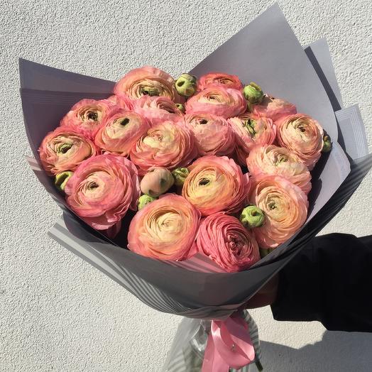 Ранункулусы: букеты цветов на заказ Flowwow