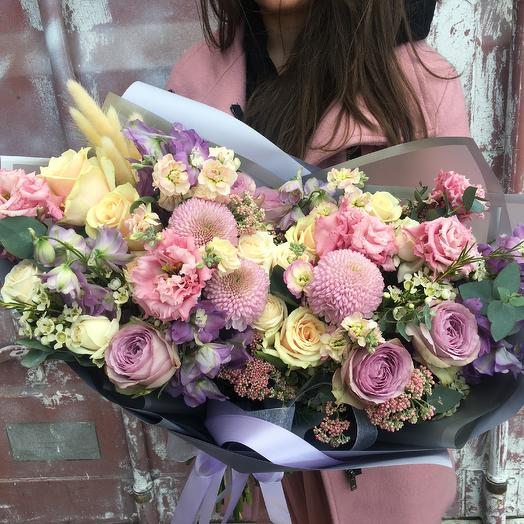 Лавандовое настроение 💜: букеты цветов на заказ Flowwow