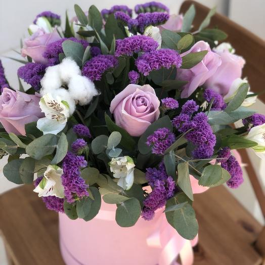 Композиция «нежные чувства»: букеты цветов на заказ Flowwow