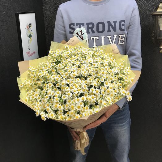 Поле Ромашек: букеты цветов на заказ Flowwow