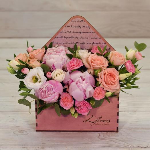 Письмо Джульетте: букеты цветов на заказ Flowwow