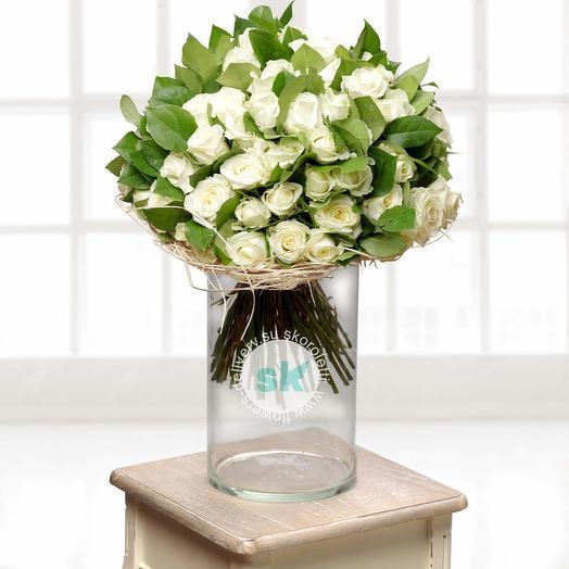 Букет из 35 роз: букеты цветов на заказ Flowwow