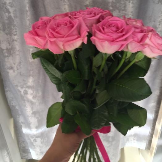 11 роз Эквадор 50 см: букеты цветов на заказ Flowwow