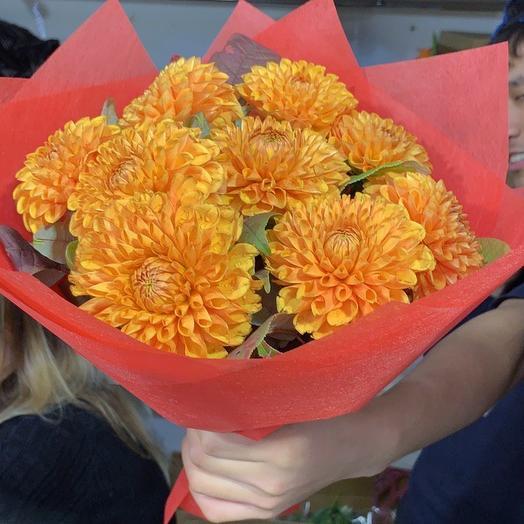 Георгины люкс: букеты цветов на заказ Flowwow