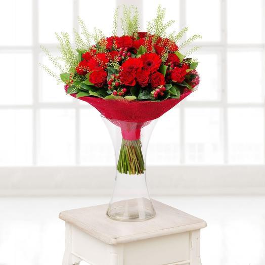 Красное море: букеты цветов на заказ Flowwow