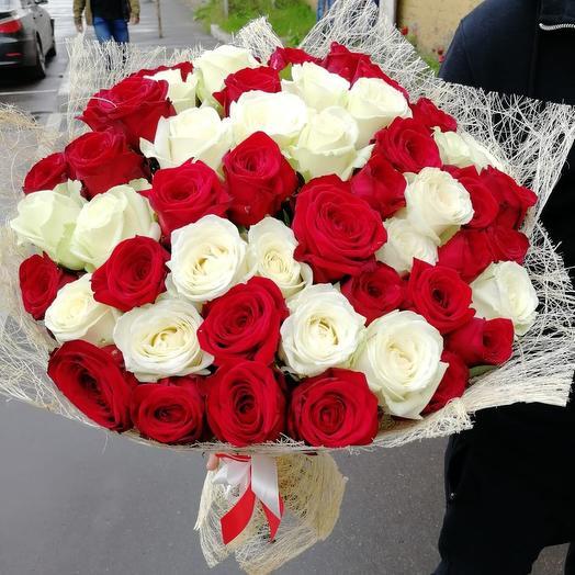 Микс из розы: букеты цветов на заказ Flowwow