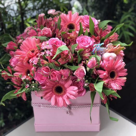 Pink mix: flowers to order Flowwow