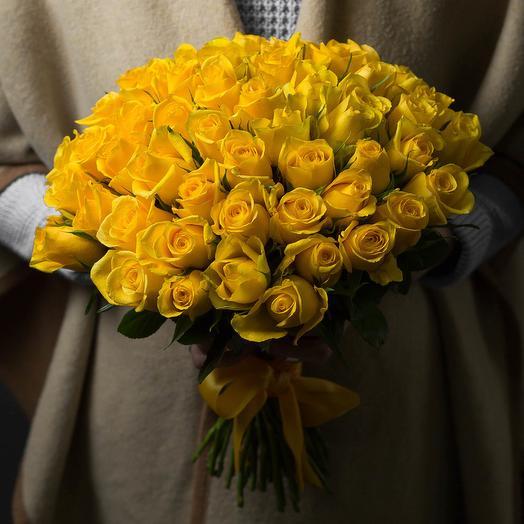 51 Роза ( Желтая )