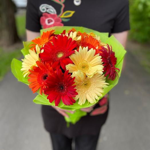 Букет «Краски лета»: букеты цветов на заказ Flowwow