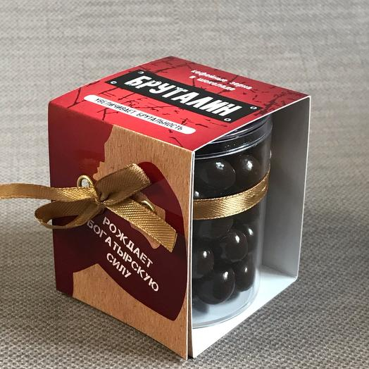 Кофейные зерна в шоколаде « Бруталин»