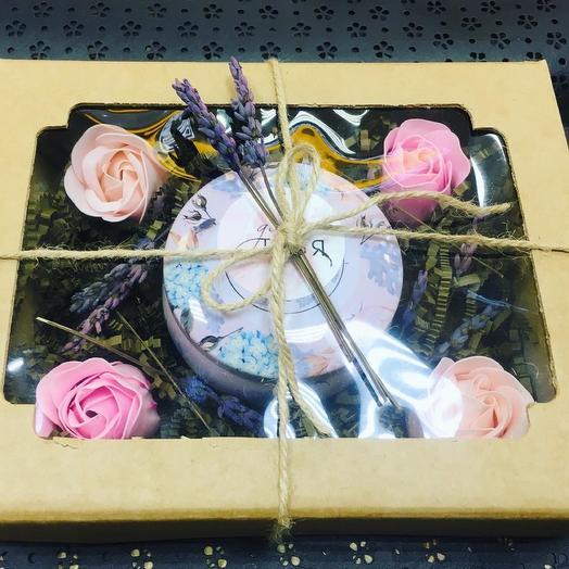 Подарочный набор «Роза и Лаванда»