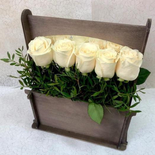 """Цветы в коробке """"Прима"""""""