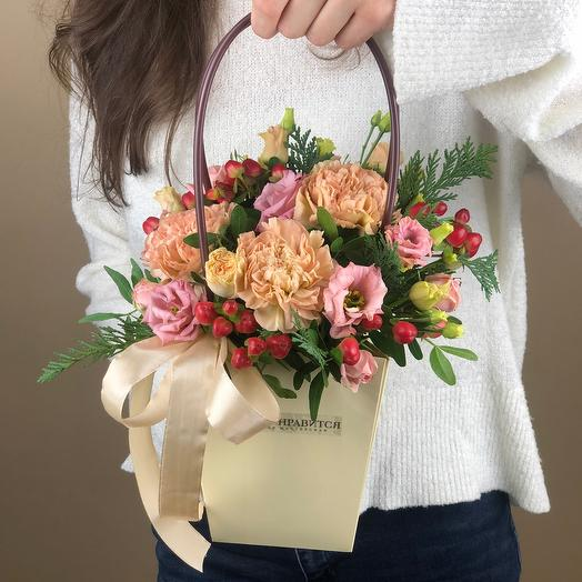 Flowers in your purse