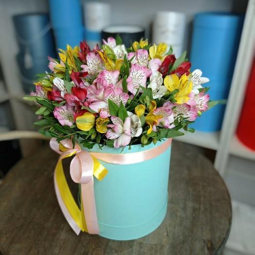 Цветы в коробке N86