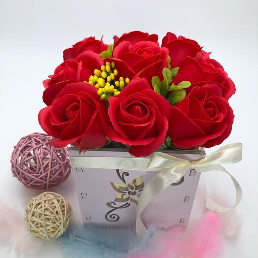 Коробочка 9 Роз