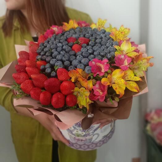 Цветы в коробкее