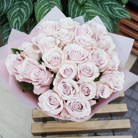 25 нежных роз эксимо