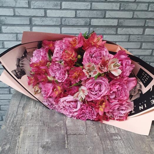 Страстный розовый