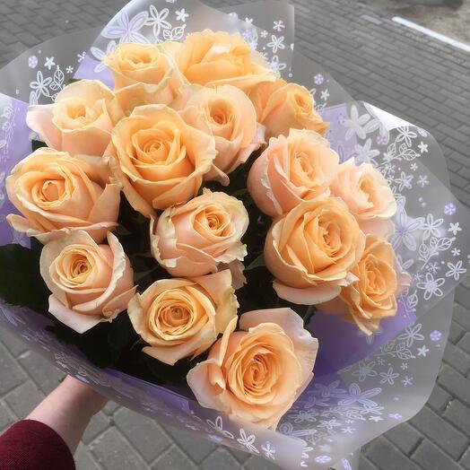 15 чайных роз