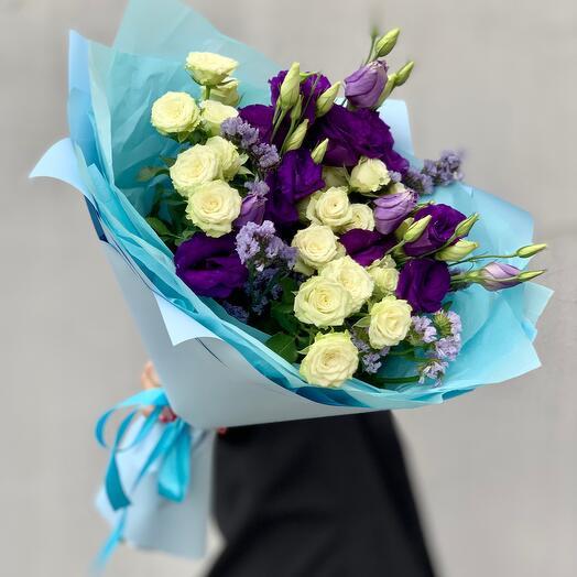 """Bouquet with taste"" S blue"