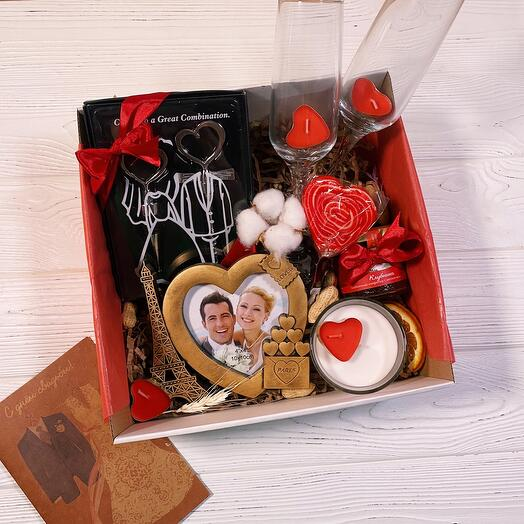Подарок на годовщину «Wine Love Box»