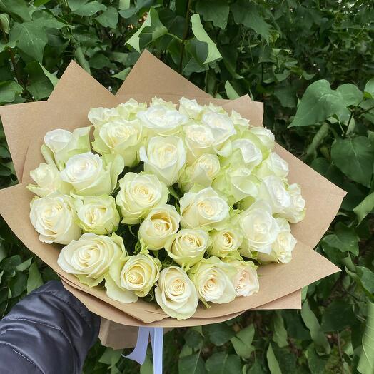Букет из 35 розы микс