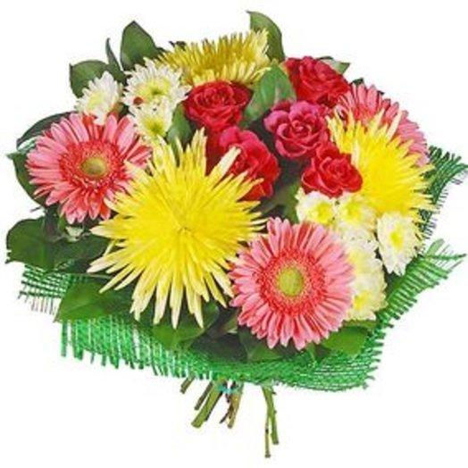 Букет Здравствуй осень! Код 100015: букеты цветов на заказ Flowwow