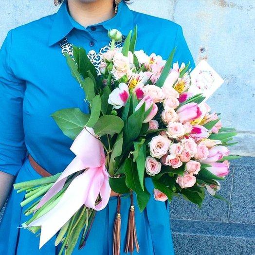 Лина / Lina: букеты цветов на заказ Flowwow