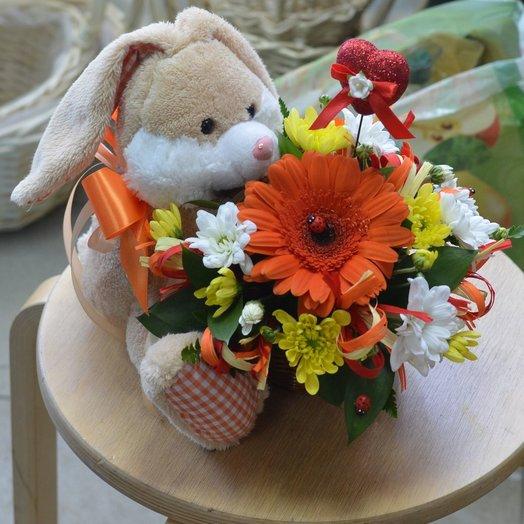 Детская композиция: букеты цветов на заказ Flowwow