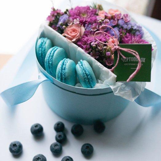 Нежно-бирюзовое счастье: букеты цветов на заказ Flowwow