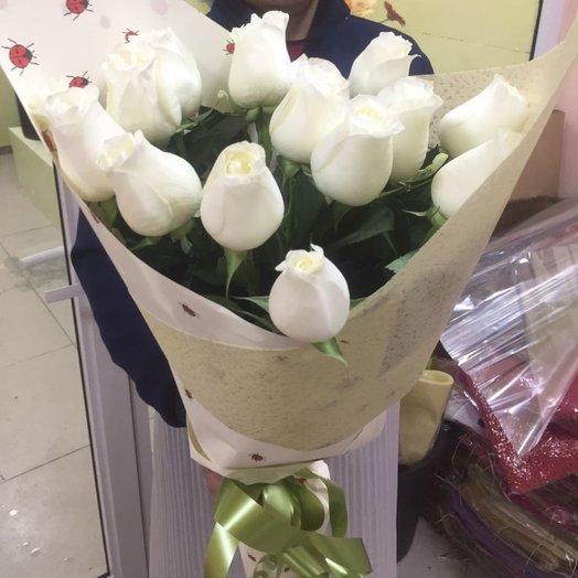 15 метровых голландских роз!: букеты цветов на заказ Flowwow