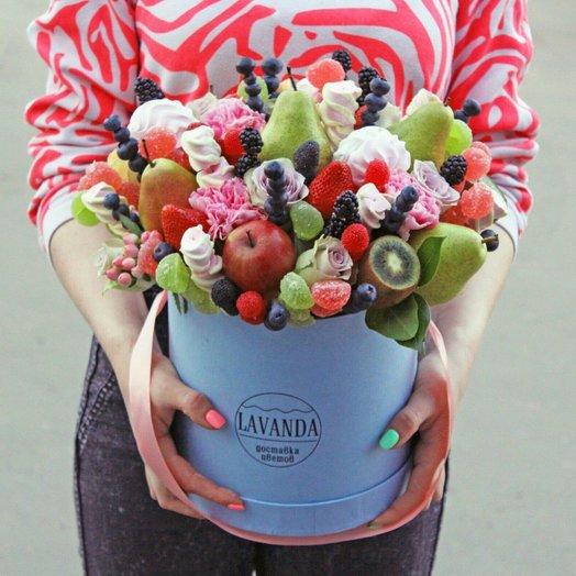 Букет Фруктовое Безумие: букеты цветов на заказ Flowwow