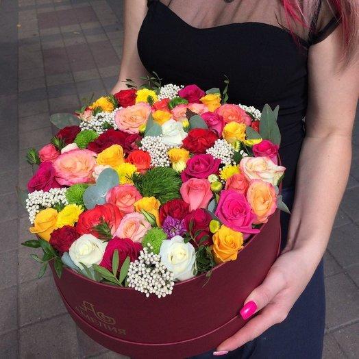 Коробка Микс: букеты цветов на заказ Flowwow