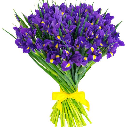 Ирис: букеты цветов на заказ Flowwow