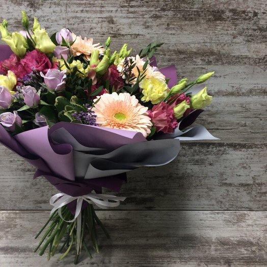 Сиреневый рассвет: букеты цветов на заказ Flowwow