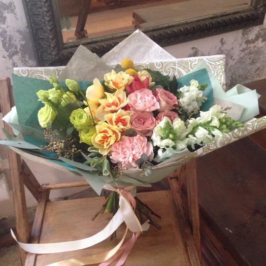 """Букет """"Контрасты"""": букеты цветов на заказ Flowwow"""