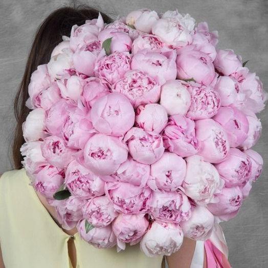 Облако Пионов 51: букеты цветов на заказ Flowwow
