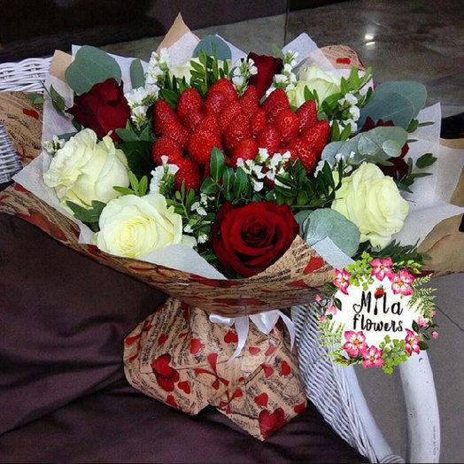 """Букет """"Единственной"""": букеты цветов на заказ Flowwow"""