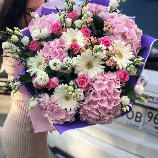 Ангельский: букеты цветов на заказ Flowwow