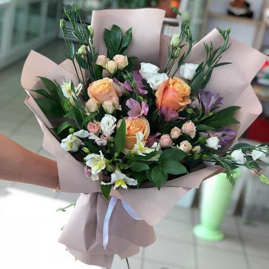 """Букет кенийских роз """"Цветочный рай"""""""