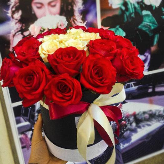 Коробка из 21-ой розы