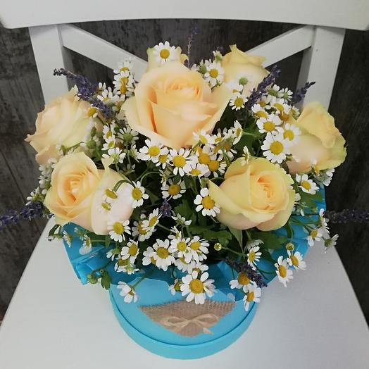 В тихом поле: букеты цветов на заказ Flowwow