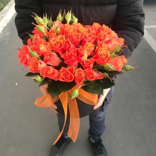 Рыжая осень: букеты цветов на заказ Flowwow