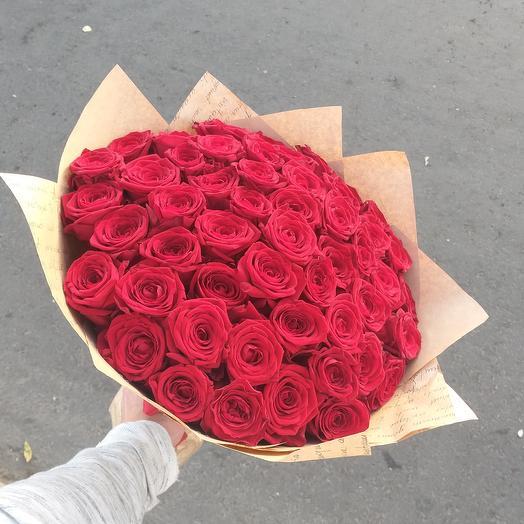 Красный стиль: букеты цветов на заказ Flowwow