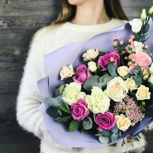 Букет комплимент 3: букеты цветов на заказ Flowwow